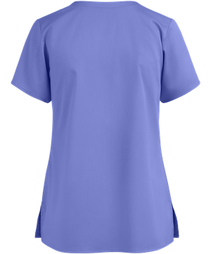 Wonder Wink Pro Women's 4 Pocket Notch Neck Top