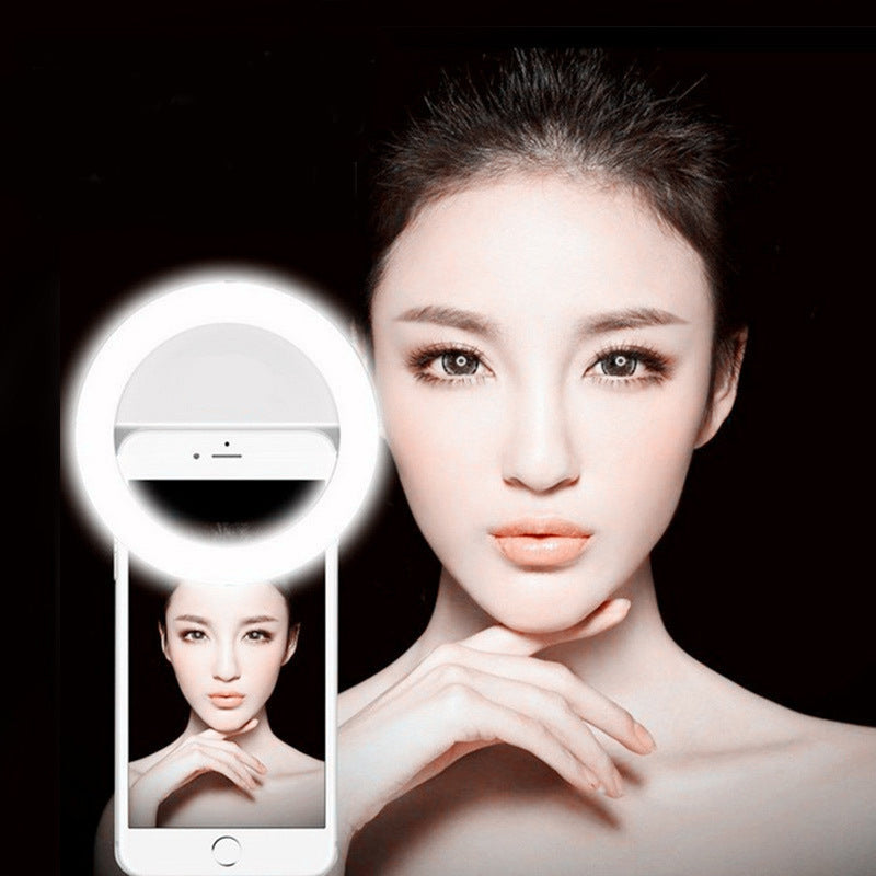 Selfie Ring Flash Fill light- For Vlogging - Niche Savings