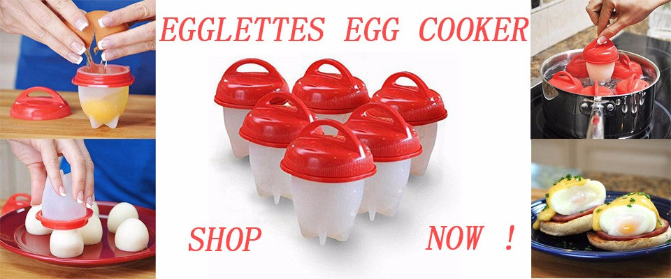 Silicone Egglettes Egg Cooker- Boiled Eggs Without The Shell - Niche Savings