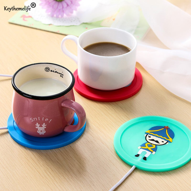 USB warm cup heating device- Coffee Tea Warmer Pad - Niche Savings