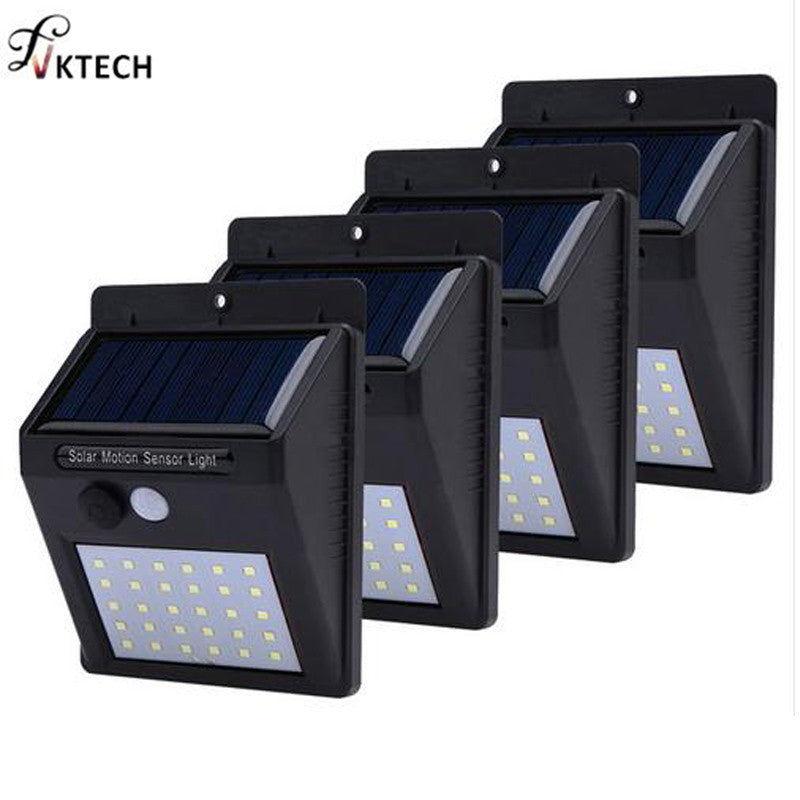 Waterproof Motion Sensor Wireless Solar Wall Lamp - Niche Savings