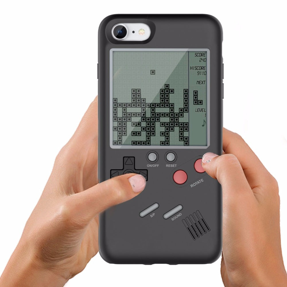 Classic Tetris Game Phone Case Cover for- iPhone X 7 8 6 6s 8 - Niche Savings