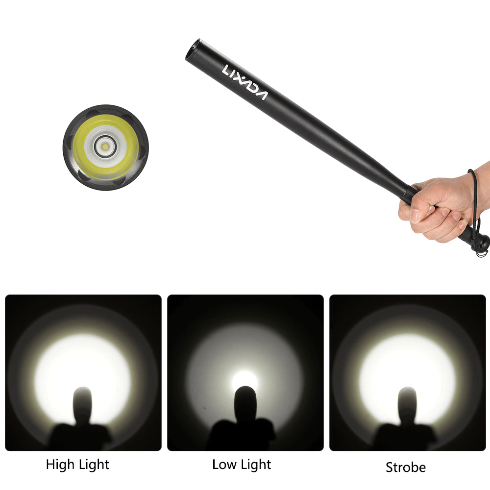 Portable Base Ball Bat With LED Flashlight - Niche Savings