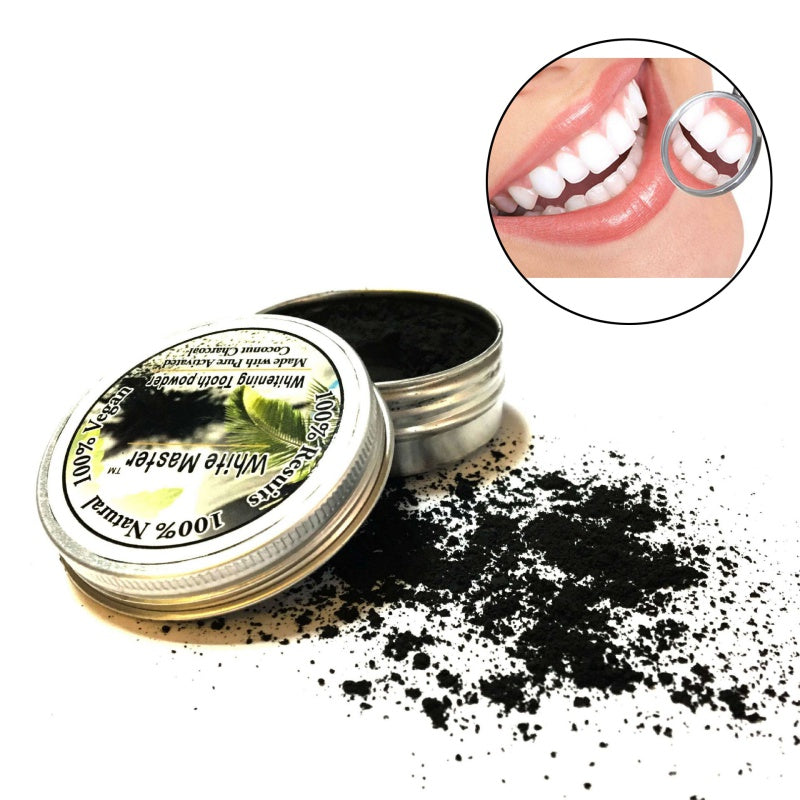 Bamboo Charcoal Whitening Tooth Powder - Niche Savings