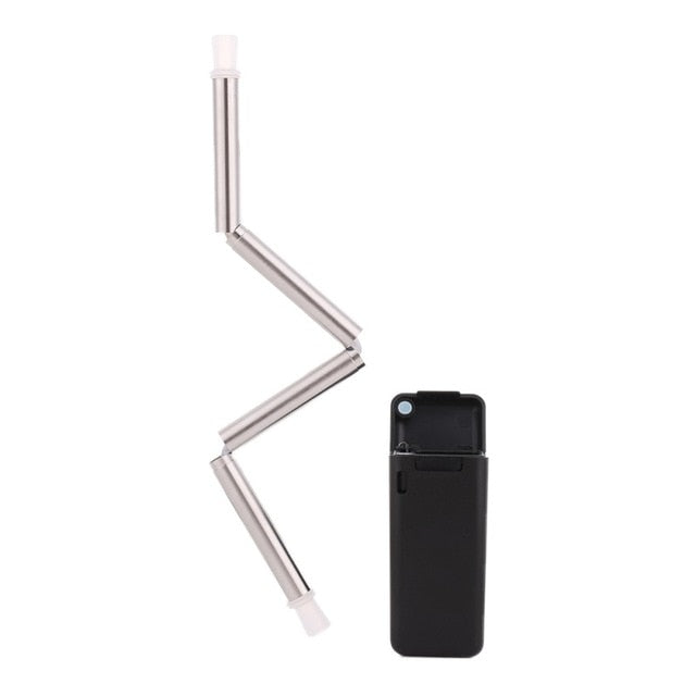 Foldable Metal Drinking Straw - Niche Savings