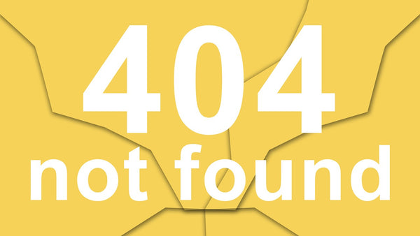 Image of 404 website page error due to unavailability of service