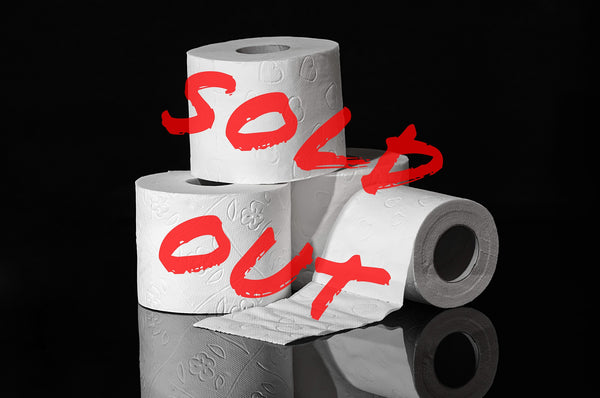 Image of sold-out toilet papers