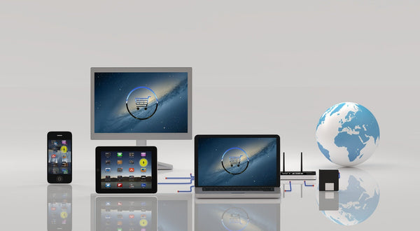 Image of various electronic devices