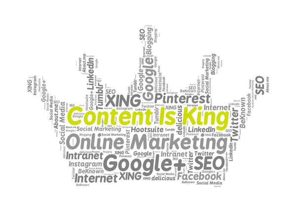 Content is King, Content optimization for SEO
