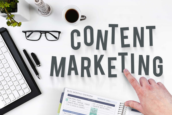 Content marketing tools for browsers