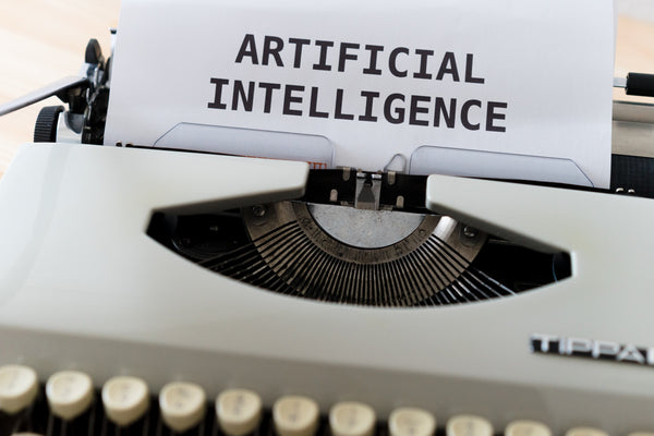 Printing Artificial Intelligence on a white paper