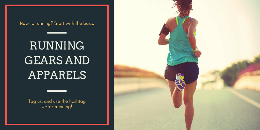 New to running gears and apparel? Start with the basics