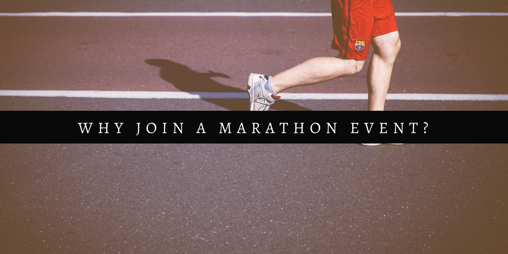 Why join a marathon event?