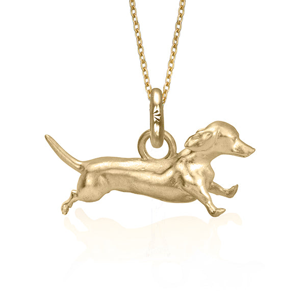 Archie the Dachshund (Yellow Gold)