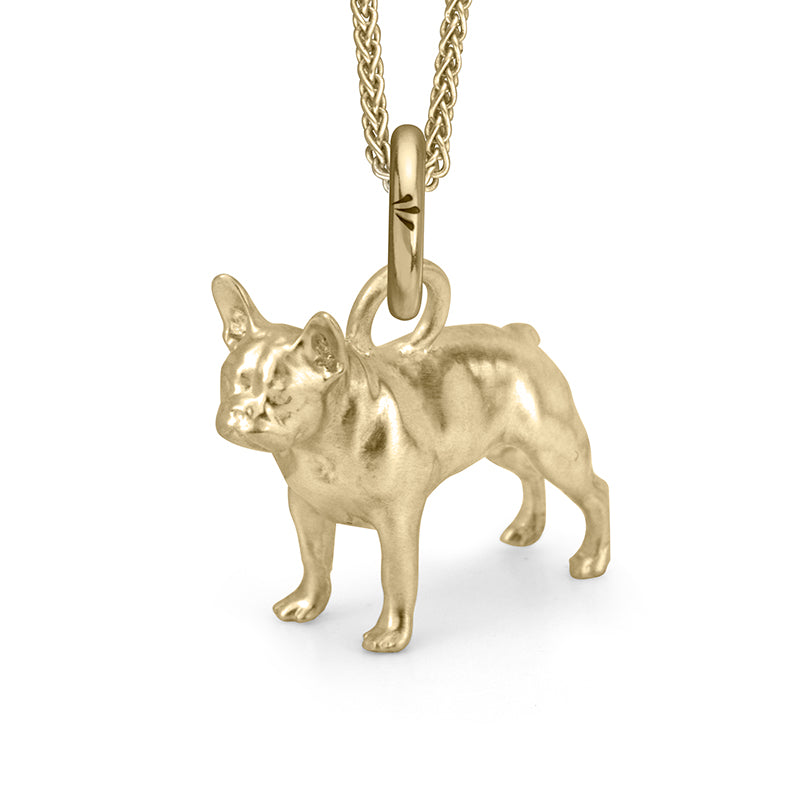 Rockie the Frenchie (Yellow Gold)