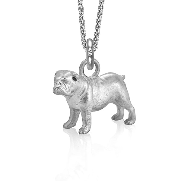 Eddie the Bulldog (Silver)