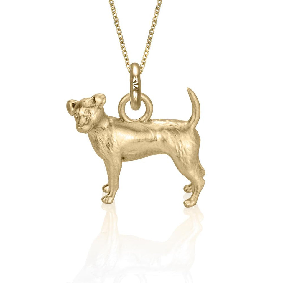 Charlie the Jack Russell (Yellow Gold)