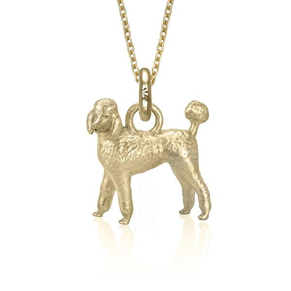 Emma Grace the Poodle (Yellow Gold)