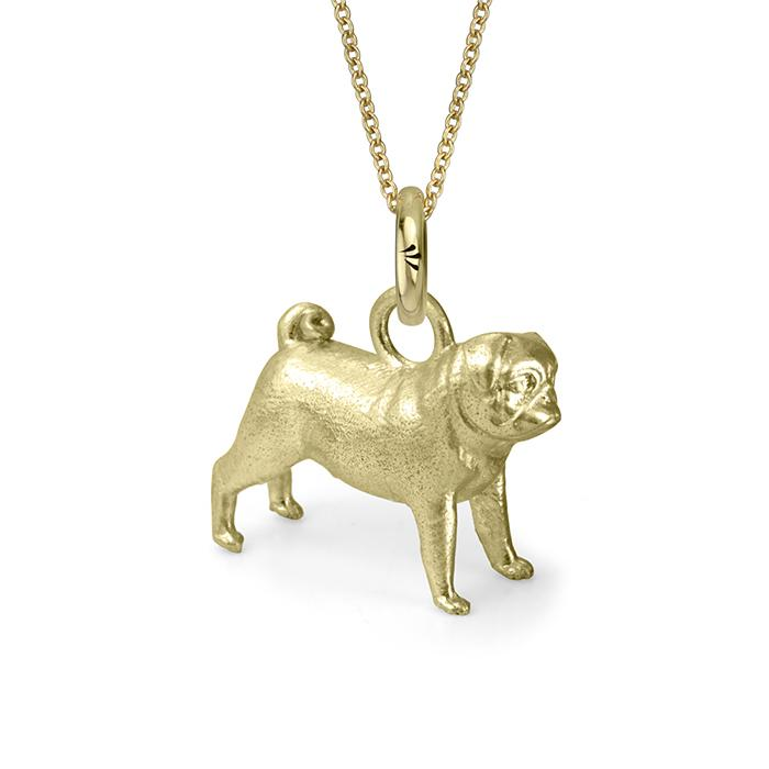 Cleo the Pug (Yellow Gold)