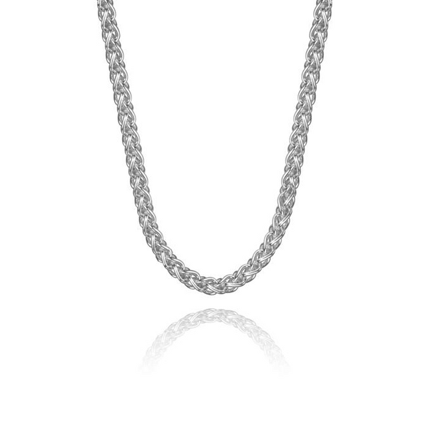 Sterling Silver Wheat Chain