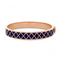 Halcyon Days Bangle - 1cm - 'Agama' - Navy