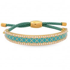 Halcyon Days Bangle - 'Agama Sparkle Friendship' - Turquoise