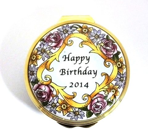 Halcyon Days Box - 'Happy Birthday 2014'