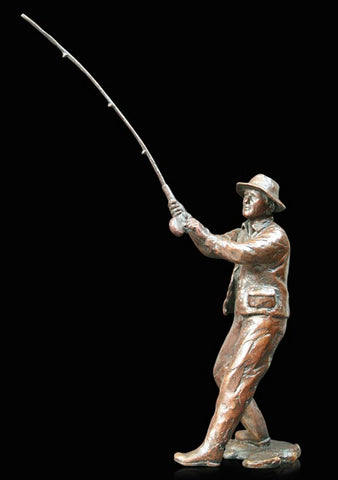 Richard Cooper Bronze - 'Fly Fishing'