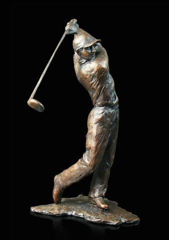 Richard Cooper Bronze - 'Golfer'