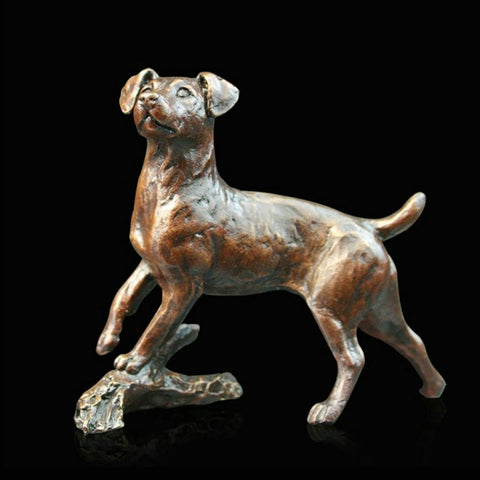 Richard Cooper Bronze - 'Small Jack Russell'