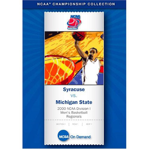 2000 NCAA Division I Men's Basketball: Syracuse vs. Michigan State DVD