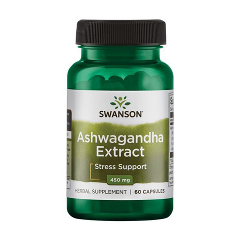 ASHWAGANDHA EXTRACT 450mg (60 caps)