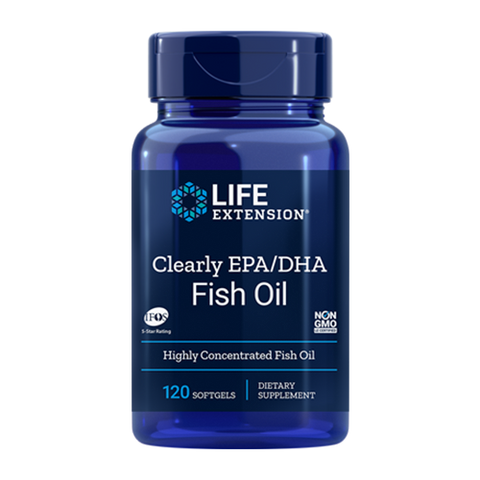 CLEARLY EPA/DHA Fish Oil (120 SOFTGELS)