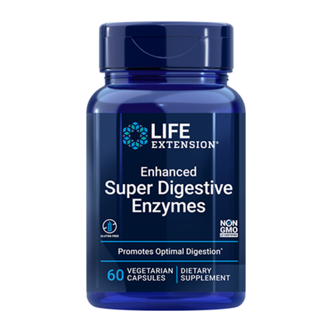 ENHANCED SUPER DIGESTIVE ENZYMES (60 VEGGIE CAPS)