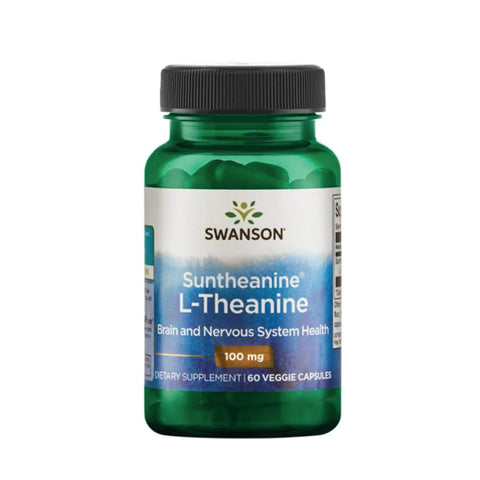 L-Theanine Double Strength 100 mg (60 Veg Caps)
