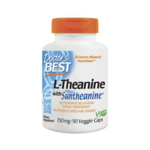 L-THEANINE 150 MG CON SUNTHEANINE (90 VEGGIE CAPS)