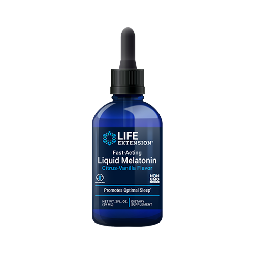 Melatonina Líquida de Rápida Acción (Citrus-Vanilla) (59ml / 2 oz)