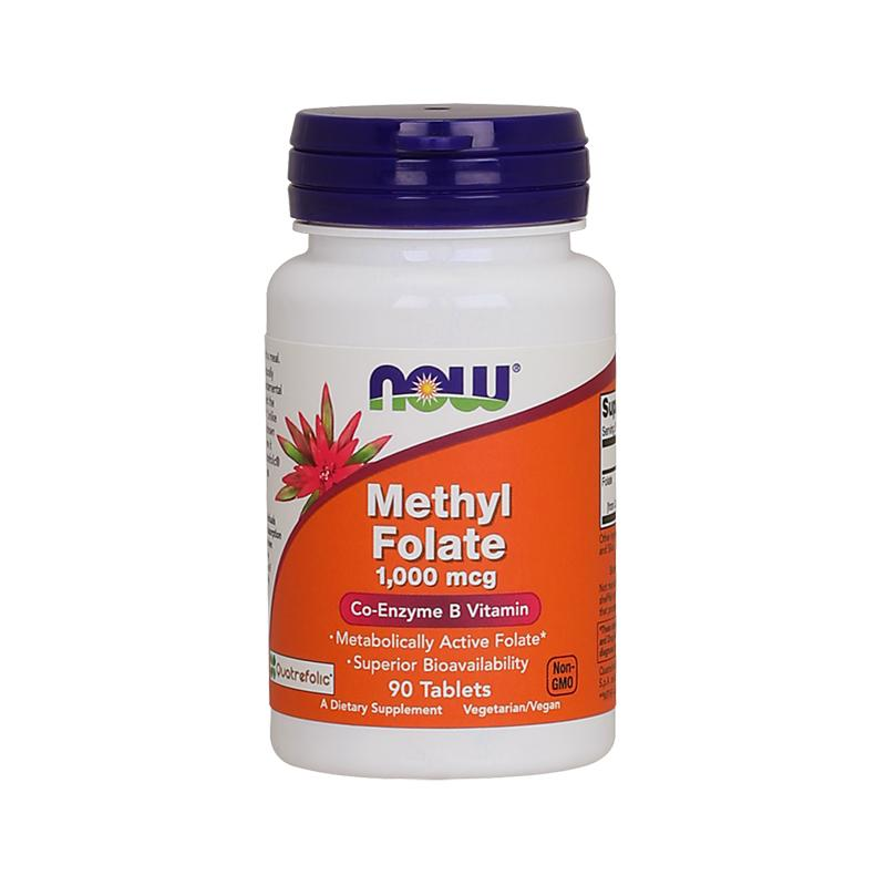 METHYL FOLATE 1,000 MCG (90 TABLETS)