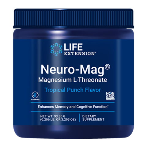 NEURO-MAG MAGNESIUM L-THREONATE POWDER (93.35 G)