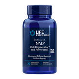 OPTIMIZED NAD+ CELL REGENERATOR WITH RESVERATROL 30 CAPS