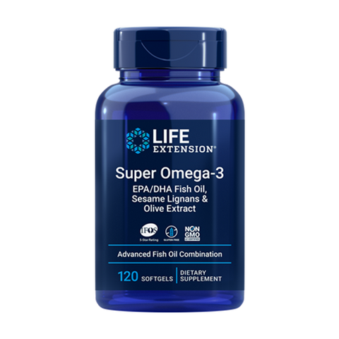 SUPER OMEGA-3 EPA/DHA 2000 MG (120 CAPS)