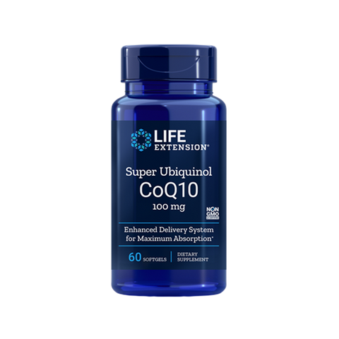 COQ10  Super Ubiquinol 100 MG (60 SOFTGELS)