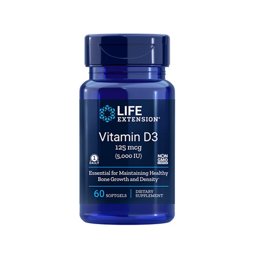 VITAMINA D-3, 5,000UI (60 CAPS)