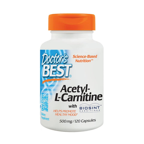 ACETIL L-CARNITINA 500 MG (120 CAPS)