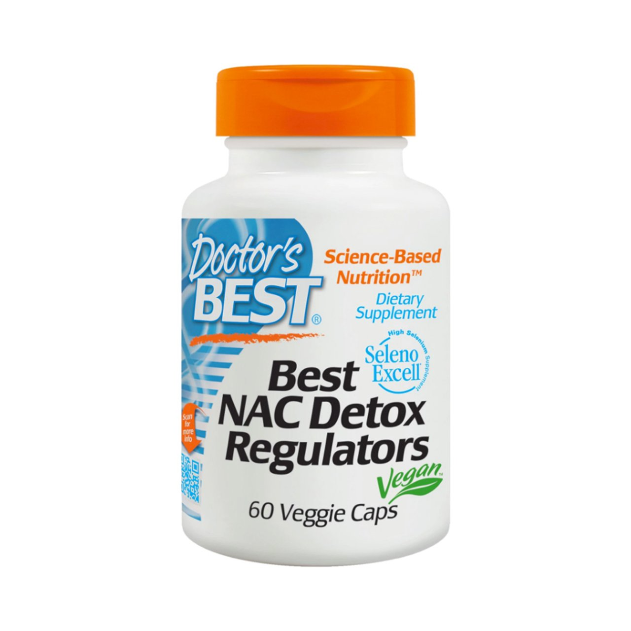 NAC DETOX REGULATORS 600 MG (60 VEGGIE CAPS)