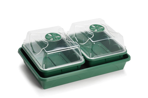 2-Bay Propagator with Capillary Mat and Tray