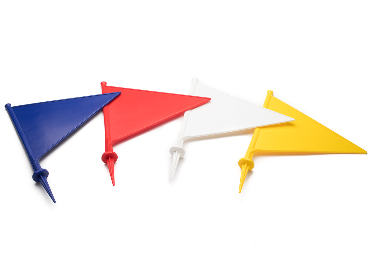 Cricket Boundary Marker Flags - Pack of 10 – EarlyGrow