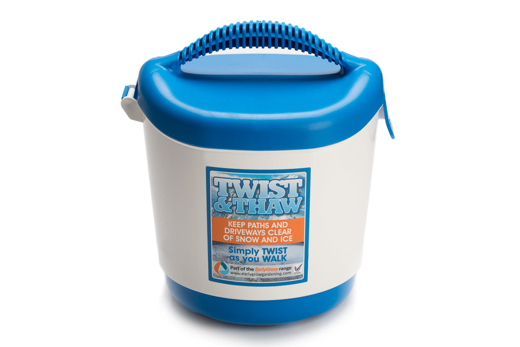Twist & Thaw Hand Held Salt Spreader