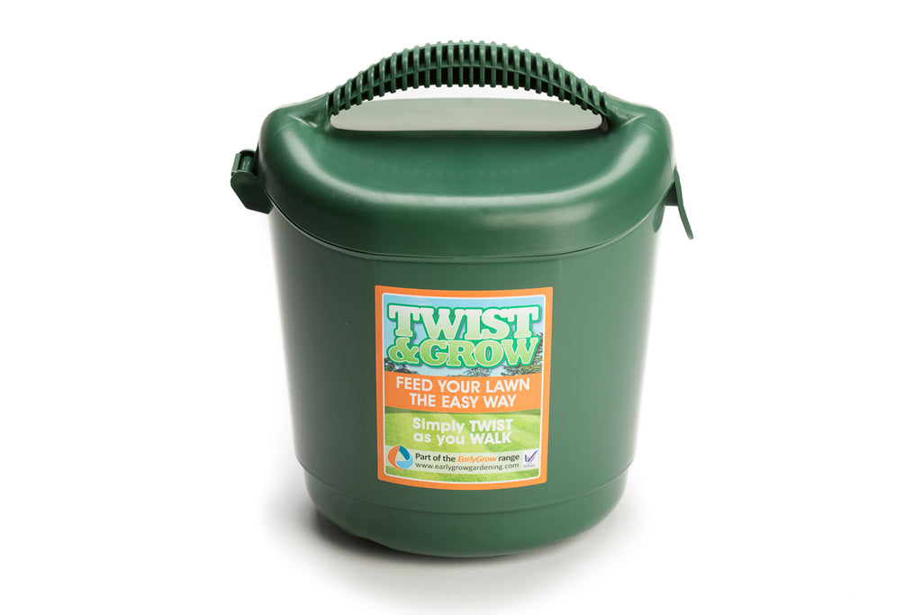 Twist & Grow Hand Held Lawn Spreader