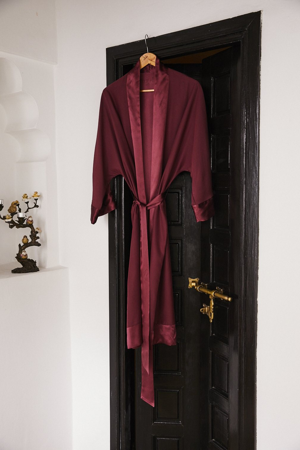 Silk Robe Long Women